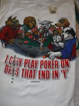Big Dog Poker Tee -- 3X in New Lenox, Illinois