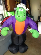 Inflatable Frankenstein in New Lenox, Illinois