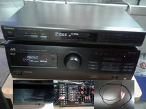 JVC 110 watt receiver with phono (turntable) input - MAKE OFFER! in Conroe, Texas