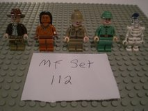 5 Lego Indiana Jones Minifigs Group 112 in Aurora, Illinois