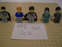 5 Lego Harry Potter Minifigs Group 102 in Sandwich, Illinois