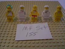 5 Lego Classic Space Minifigs Group 155 in Sandwich, Illinois