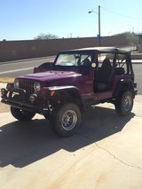 Jeep Wrangler 4x4 in Barstow, California