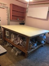 Drapery/craft table - custom built in Oswego, Illinois