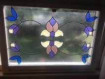 "50% OFF Stain GlassWindows set of ""2"" in Cherry Point, North Carolina"