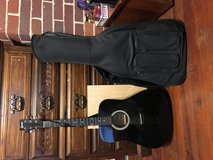 Lauren acoustic guitar with case in Byron, Georgia