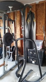 Everlast Punching bag and Stand in Wilmington, North Carolina