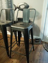 "Barstools - low back 26"" seat height - have 4 in Camp Lejeune, North Carolina"