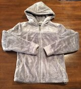 Women's The North Face Northface OSO Silver Gray Grey Hooded Jacket sz Small in Fort Campbell, Kentucky