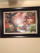 Beautiful tree painting in Fort Campbell, Kentucky