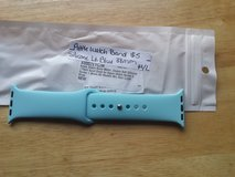 Apple Watch band light blue silicone 38mm in Fort Campbell, Kentucky