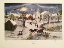 "Will Moses ""Christmas Eve Service"" - Signed and Numbered with COA in Naperville, Illinois"