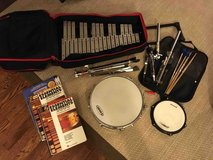 Vic Firth Percussion Kit + 3 books and sheet music in Westmont, Illinois
