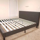 New King Size Upholsterd  Bed Frame in Fort Campbell, Kentucky
