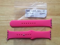 Apple Watch band Hot Pink silicone 38mm in Fort Campbell, Kentucky