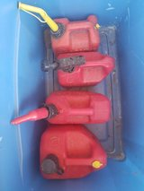 4 gas cans in Travis AFB, California