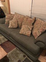 Sofa, Love seat, and matching chair and ottoman in Houston, Texas