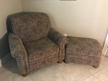 Chair and ottoman in Houston, Texas
