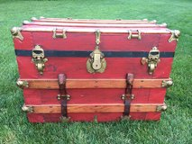 Vintage Steamer Trunk in Wheaton, Illinois
