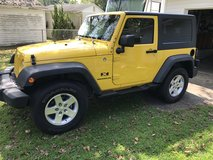 2008 Jeep Wrangler 27,250 miles in Camp Lejeune, North Carolina