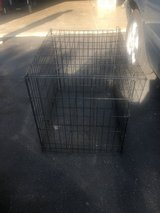 Dog crate in Westmont, Illinois