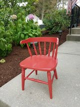 Children's Chair - wooden, painted in Wheaton, Illinois