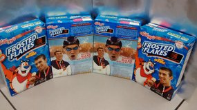 4 - RARE Michael Phelps 2008 Olympic Frosted Flakes Cereal Boxes FULL UNOPENED! in Palatine, Illinois