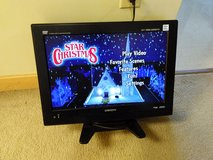 "Japanese Orion 19"" TV with DVD on the side /no remote control in Okinawa, Japan"