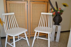 2 Shabby Vintage Kitchen Chairs Dining Chairs in Wiesbaden, GE