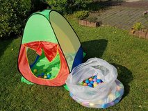 ** Toddler Tent /w balls in Ramstein, Germany