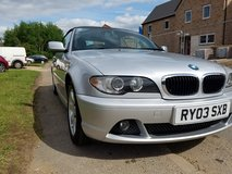 Bmw 2004 convertible with hard top 2.0 petrol automatic in Lakenheath, UK