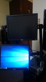 (2X) Dell Monitor W/ Vertical Mount in Okinawa, Japan