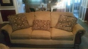 couch oversized chair and ottoman in Houston, Texas