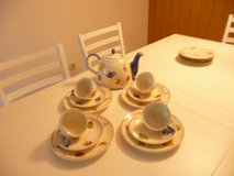 tea-time dishes in Ramstein, Germany
