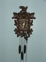 Vintage Large Black Forest Coo Coo Clock 3-Weight Made in Germany in Westmont, Illinois