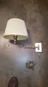 Light Fixture, Reading Light, Wall Mount swing out with Shade in Alamogordo, New Mexico