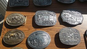 Hesston belt buckels in Fort Knox, Kentucky