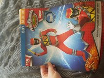 Power ranger costume boy size m (8-10) in Fort Hood, Texas