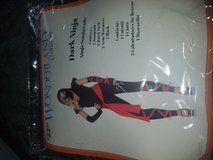 Ninja costume size m (8-10) in Fort Hood, Texas