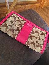 Brown and pink coach wallet in Lawton, Oklahoma