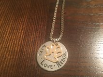 Live Love Rescue Necklace in Fort Belvoir, Virginia
