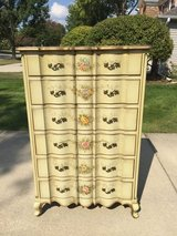 Hand Painted High Boy Chest in Westmont, Illinois