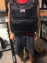 X vest with 84 one pound weights in Camp Lejeune, North Carolina