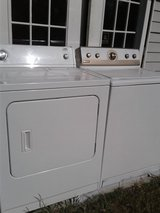 Washer and dryer delivered in Hinesville, Georgia
