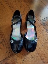 EXCELLENT CONDITION! Girls Black Dress Shoes, Size 2.5 in Fort Campbell, Kentucky