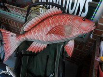 RED SNAPPER METAL WALL ART in Cherry Point, North Carolina