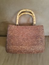 LIKE NEW!! 100% Wheat Straw Purse in Fort Campbell, Kentucky