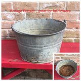 Vintage Bucket (rusty bottom) in CyFair, Texas