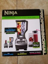 Ninja Professional Blender with Cups in Fort Bliss, Texas