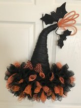 Witch Hat Wreath in New Lenox, Illinois